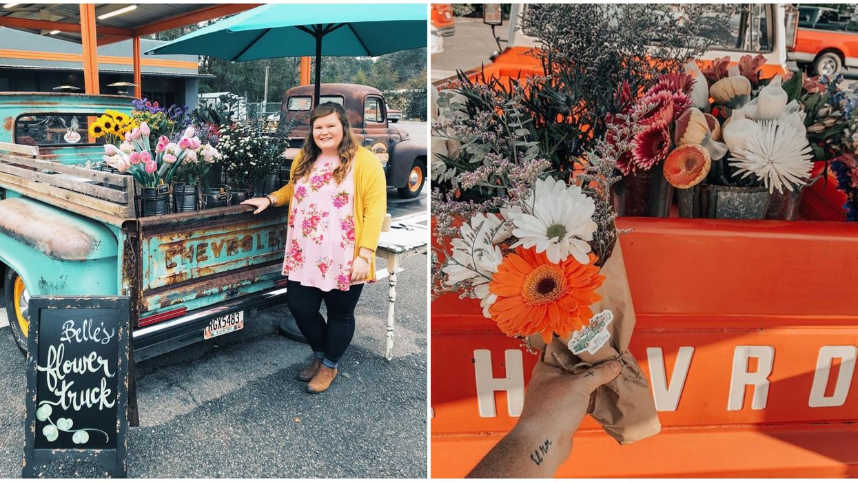 This Flower Truck In Georgia Is Ultimate Spring Vibes
