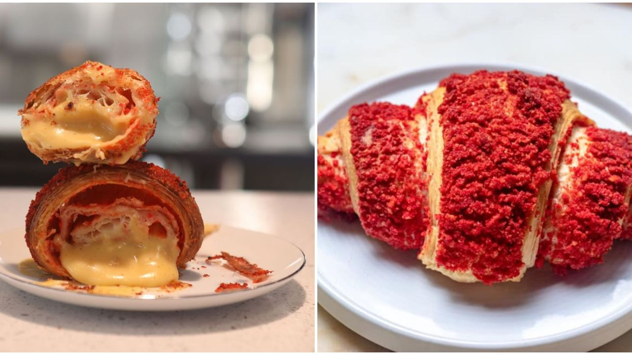 There Are Hot Cheeto Croissants At This New Houston Bakery
