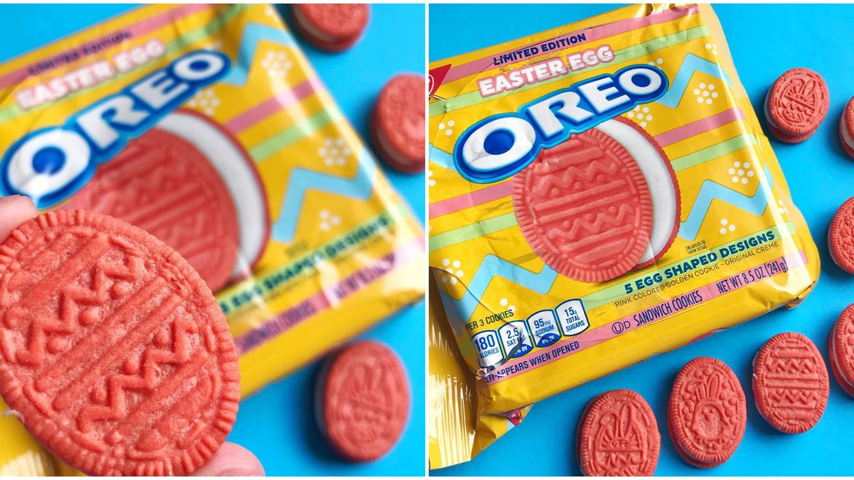 Easter Oreos  In Canada Just Hit The Shelves & They Are So Pink