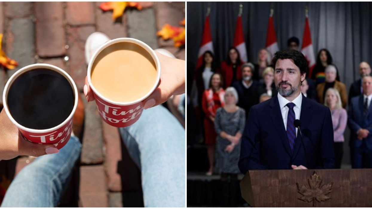 Justin Trudeau's Tim Hortons Bill Was Only $89 In His First 4 Years As PM