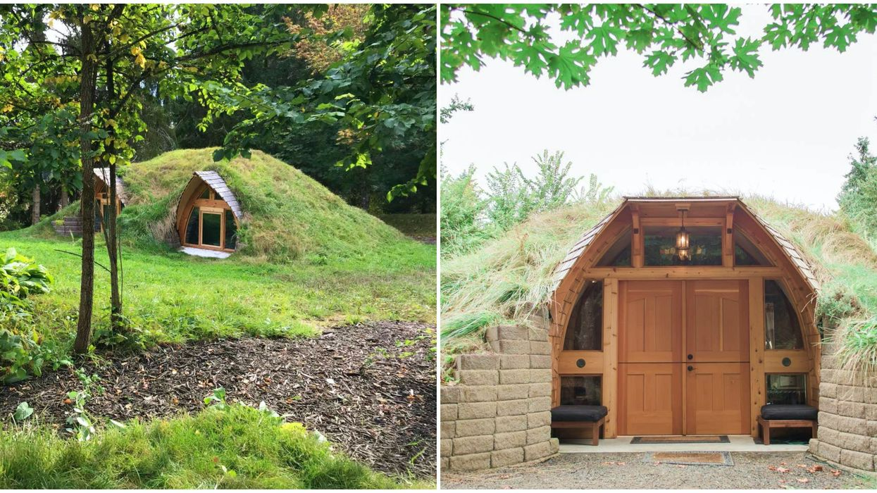 Unique Stays In Washington Include This Affordable Underground Hobbit Dome House
