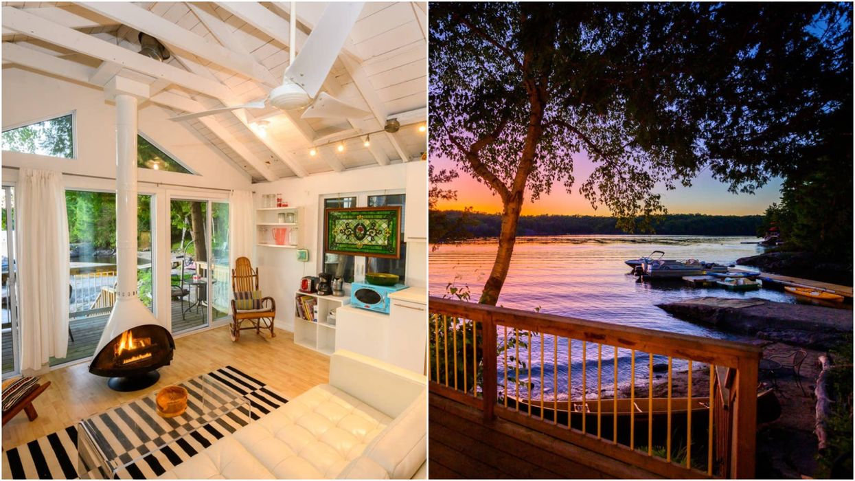 This Ontario Airbnb Is The Ultimate Private Summer Paradise