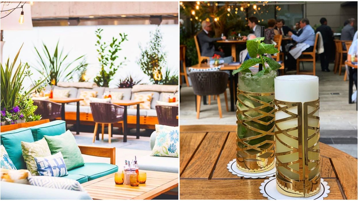 Reflections Is Opening Their Spring Patio Soon In Vancouver & It's A Rooftop Garden Paradise