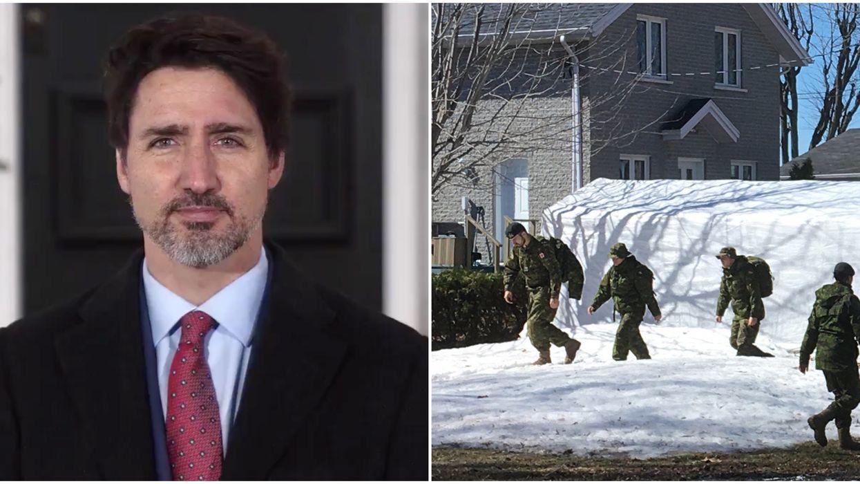 L'armée canadienne se prépare à intervenir pour lutter contre la pandémie au besoin