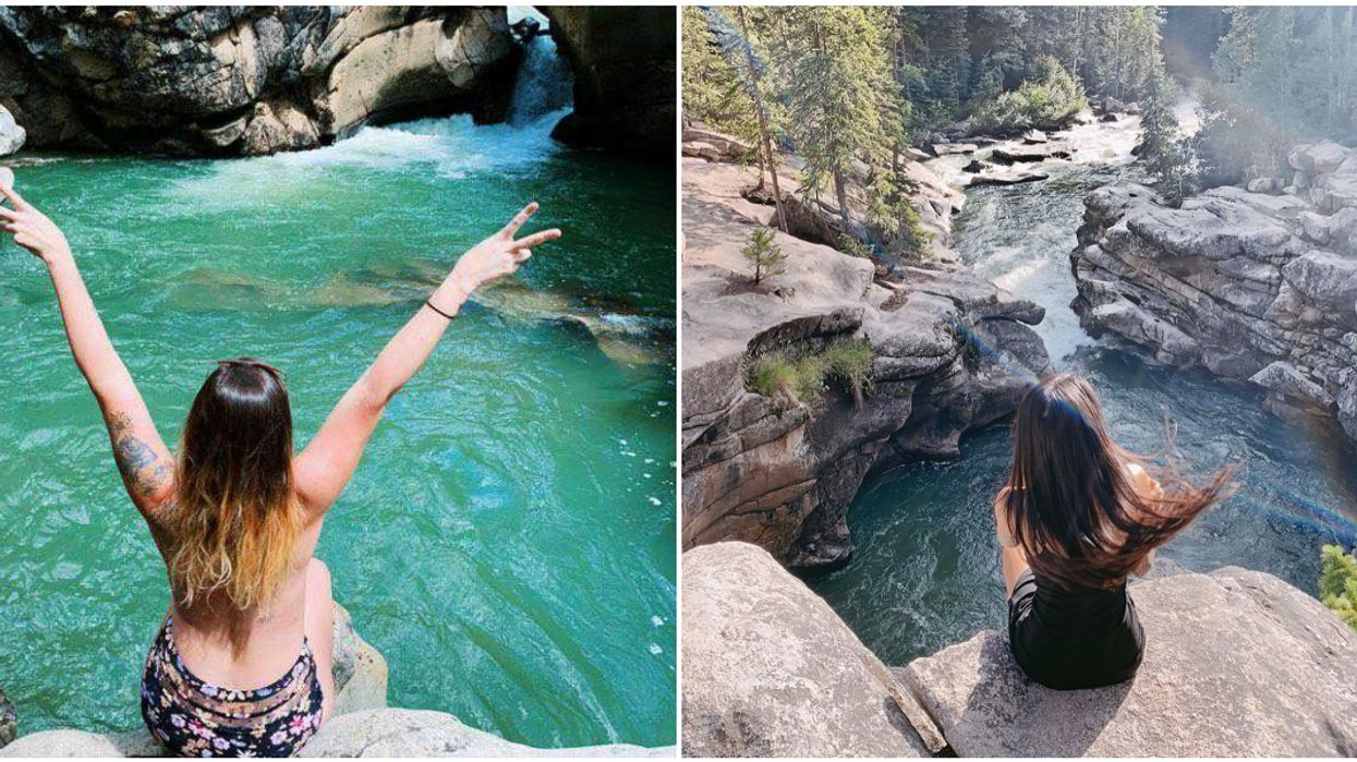 It's Totally Free To Take A Dip At This Natural Turquoise Pool In Colorado