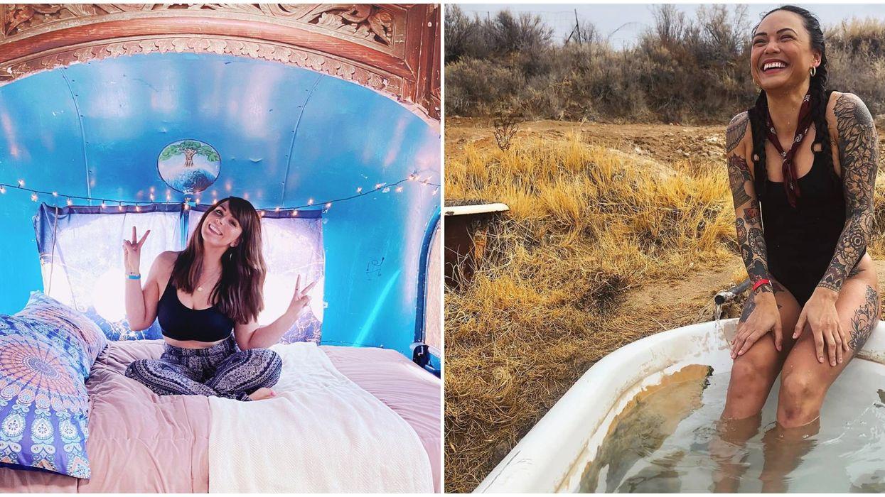 Mystic Hot Springs In Utah Is A Haven Of Antiques & Natural Springs