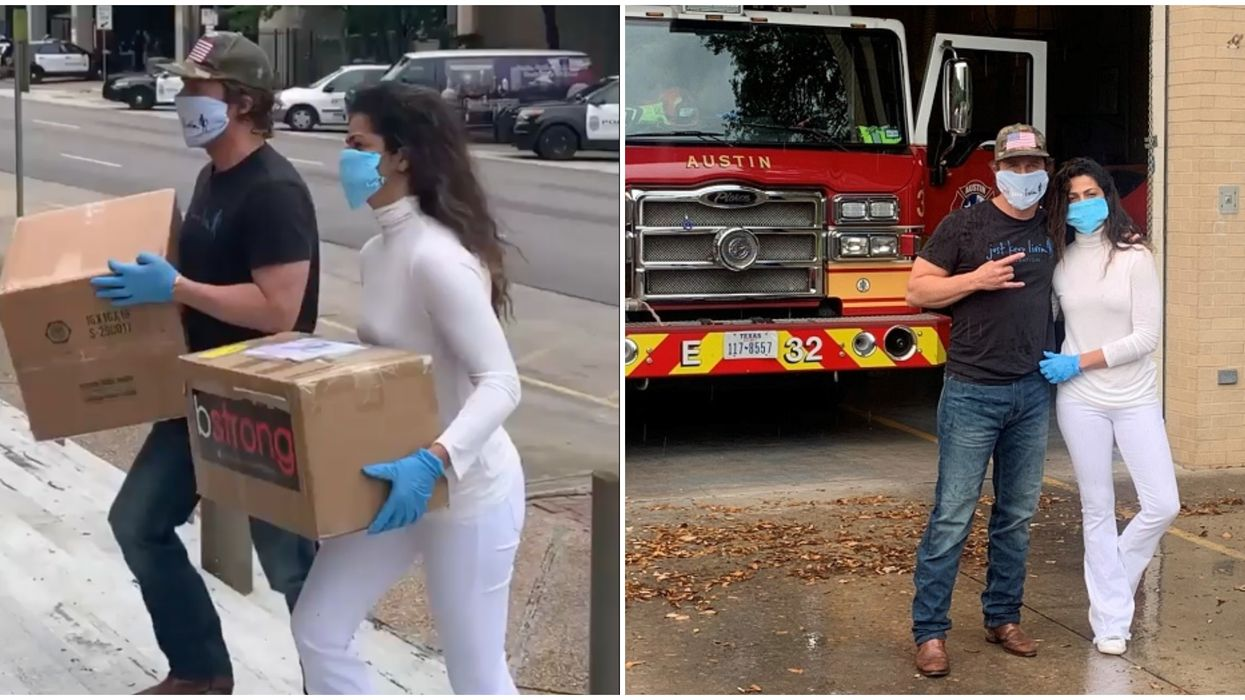 Matthew McConaughey's COVID-19 Efforts In Austin Include Donating Thousands Of Masks