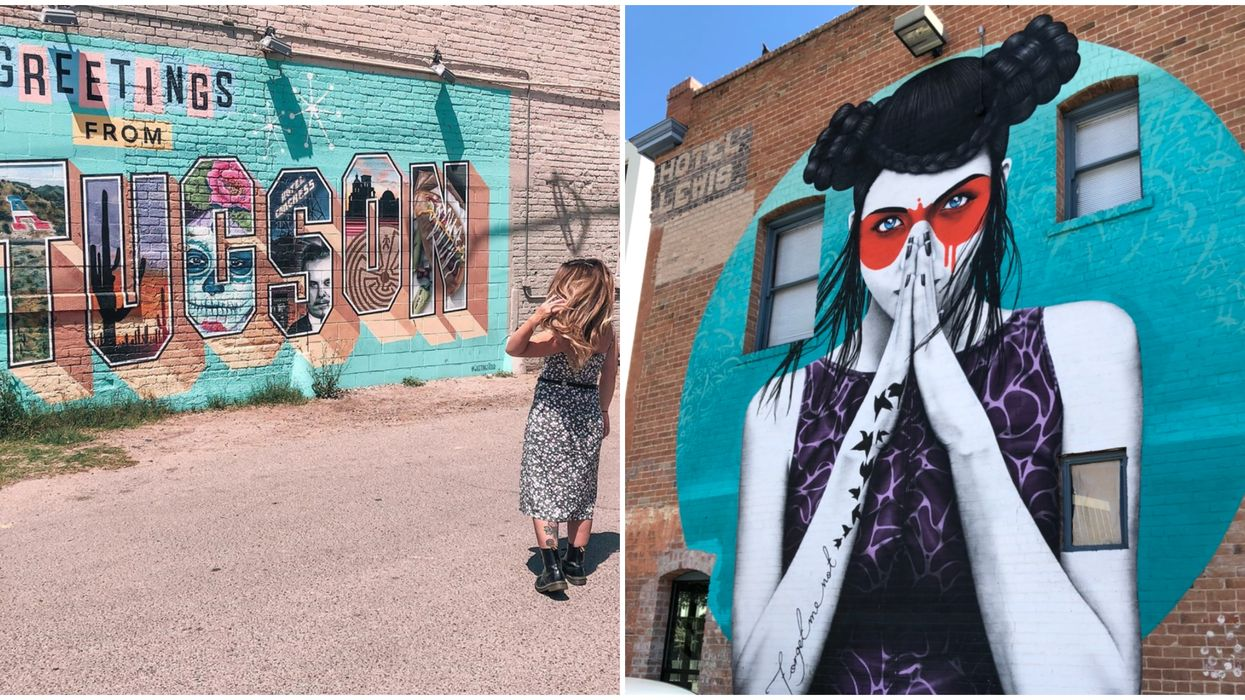 Downtown Tucson Is Home To A Secret World Filled With Fantastic Murals