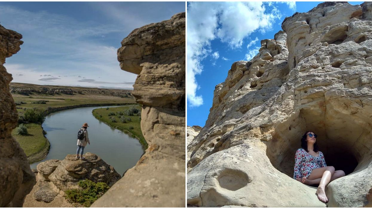 Weird Albertan Landmarks That Look Like They're From Another Planet