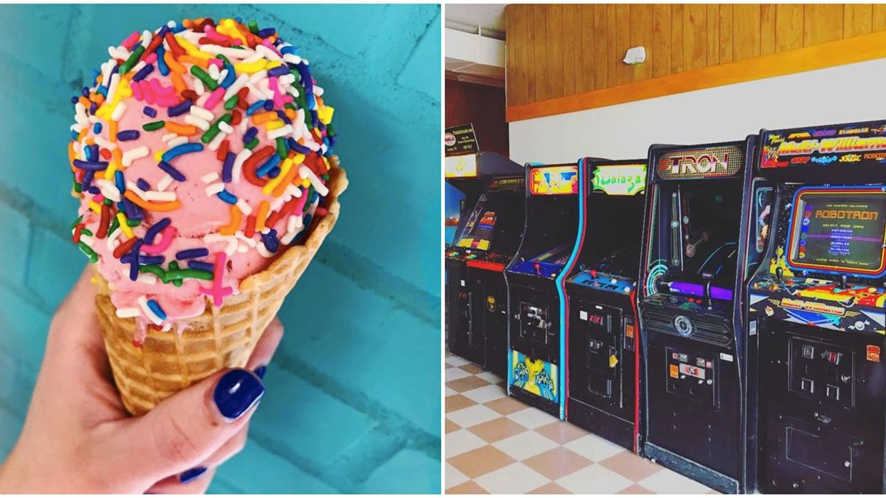 You Can Rent Out This Entire Boozy Austin Arcade & Ice Cream Shop For Super Cheap