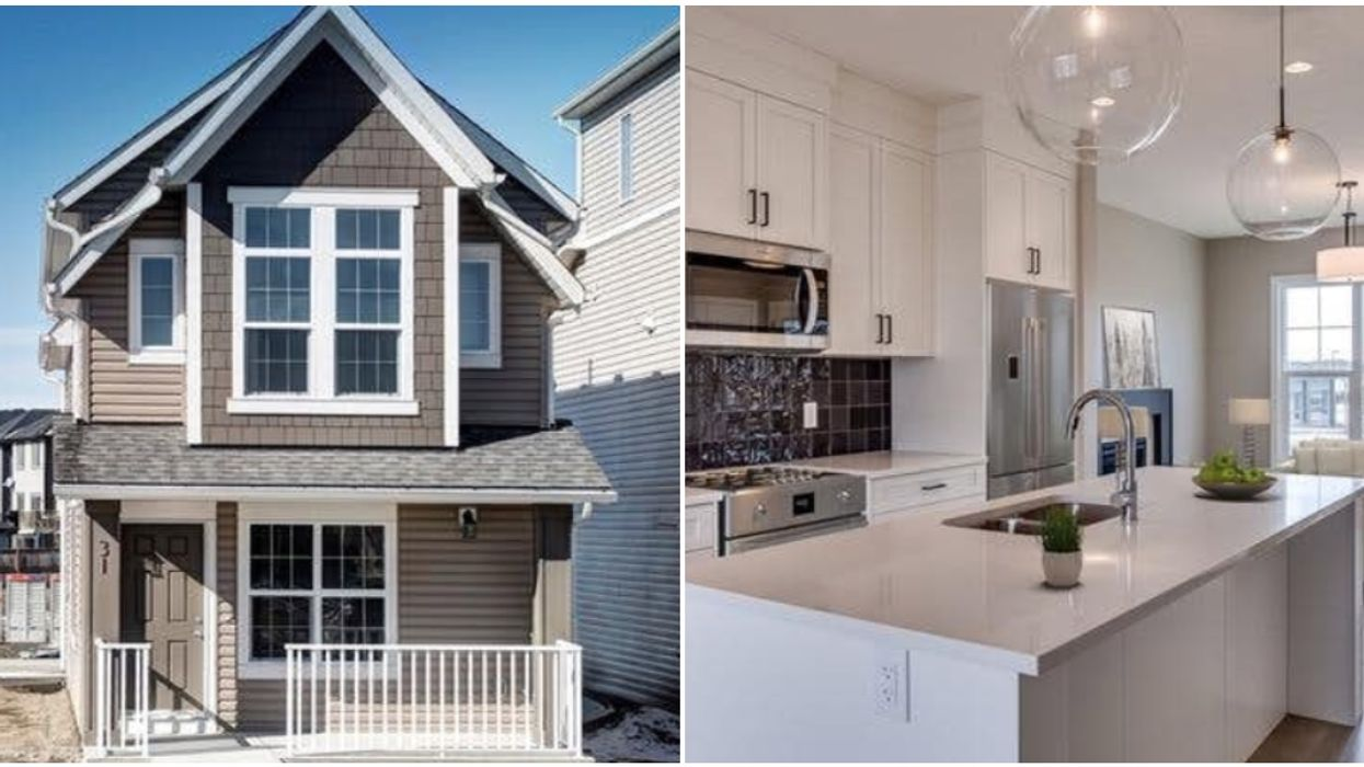 These Affordable Houses Just Outside Of Calgary Are The Perfect Starter Homes