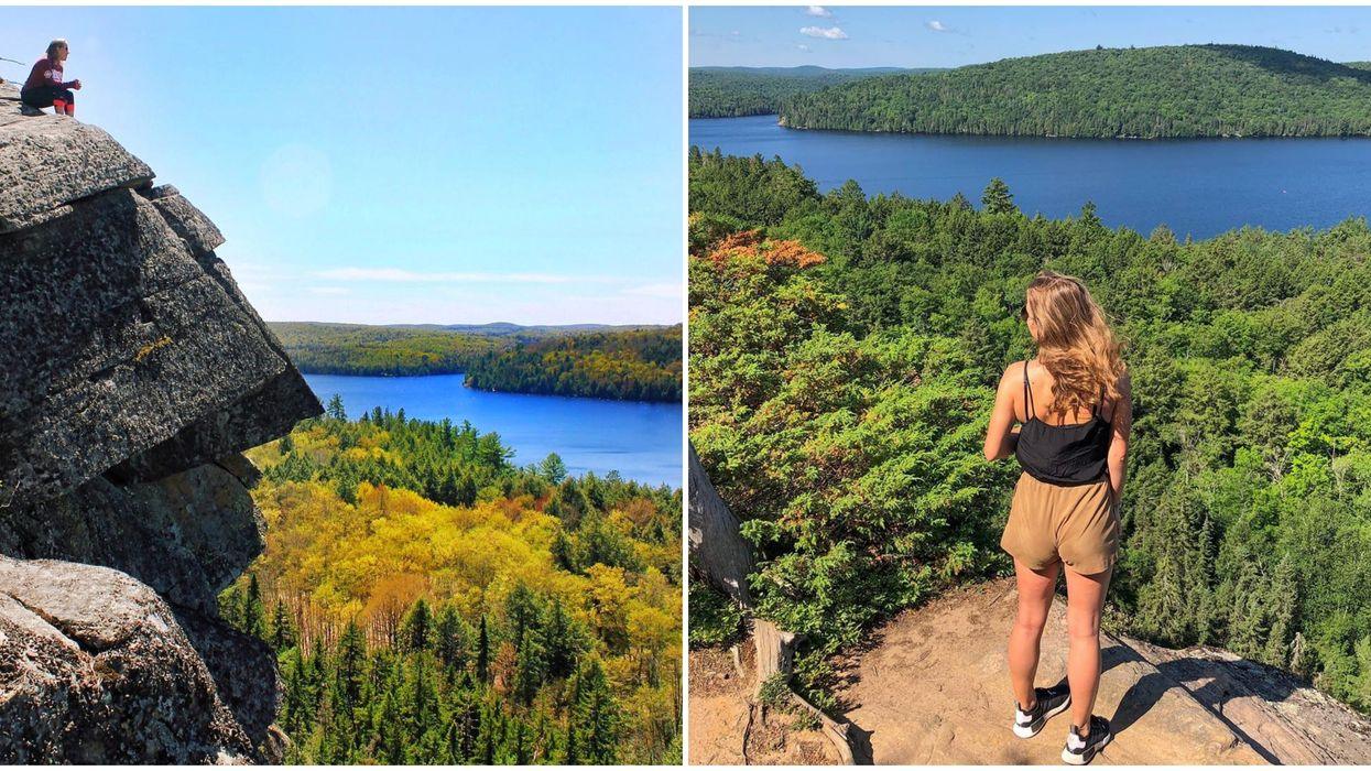 An Algonquin Park Trail Leads To A Huge Cliff With Truly Breathtaking Views