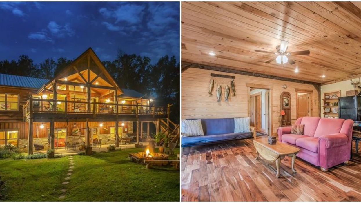 Affordable Alabama Airbnb Rental Is A Charming Lake Shore Cabin