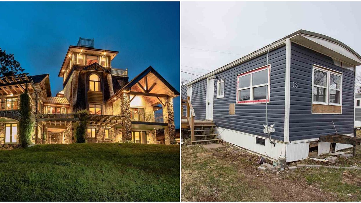 Here's What A $12,900 House VS A $21 Million Mansion Looks Like In Nova Scotia
