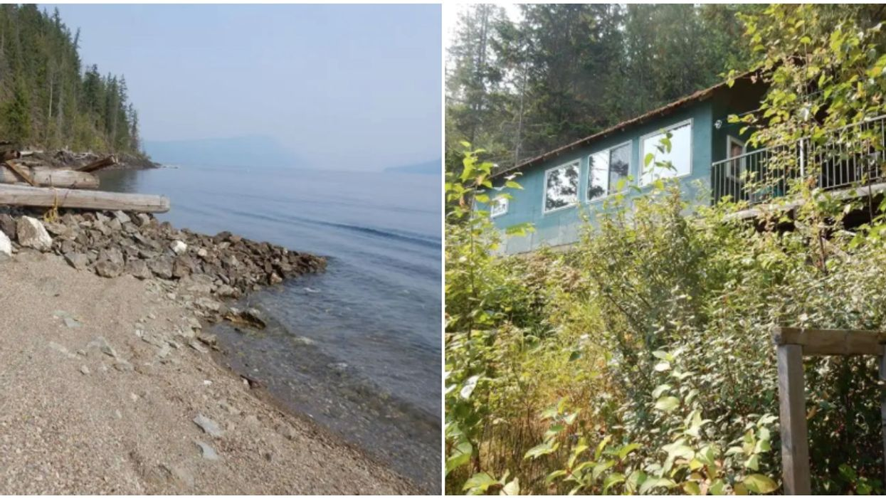 You Can Buy A Lakefront Cottage In BC For $266k & It's 10 Steps From The Water