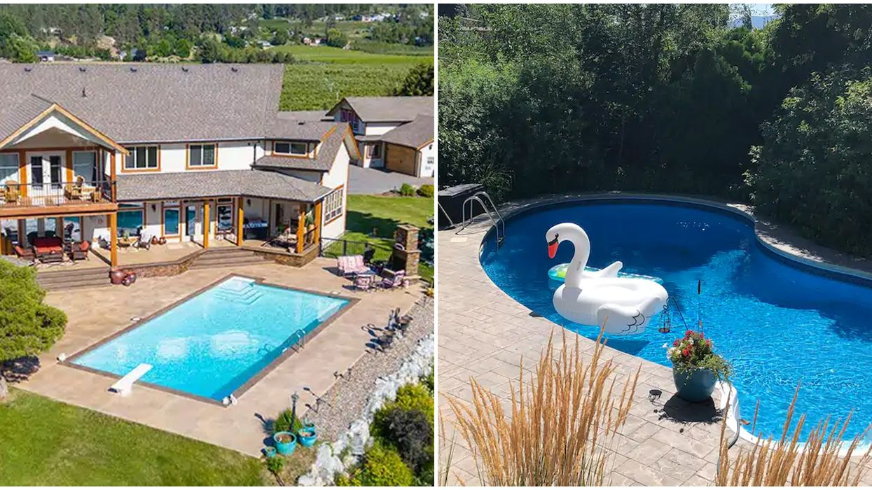 B.C. Airbnbs With Outdoor Pools So You Can Swim All Day