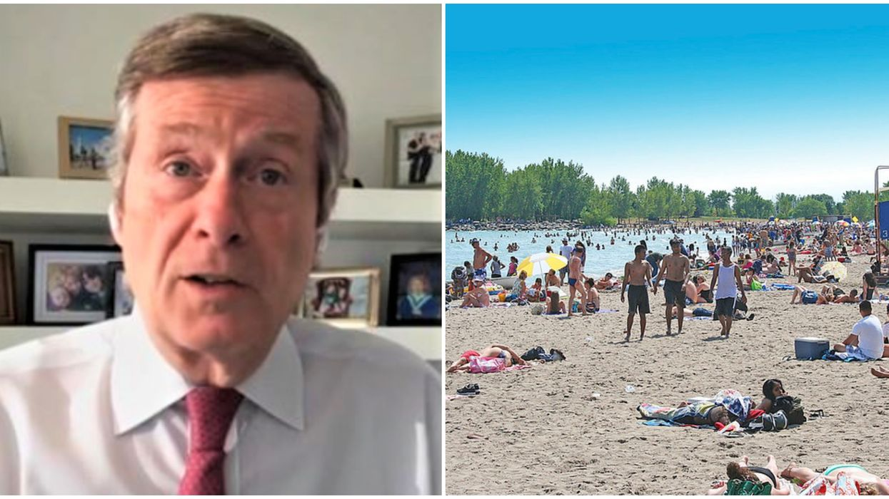 Crowded Toronto Beaches Simply Cannot Happen Again Like Last Weekend, Says Tory