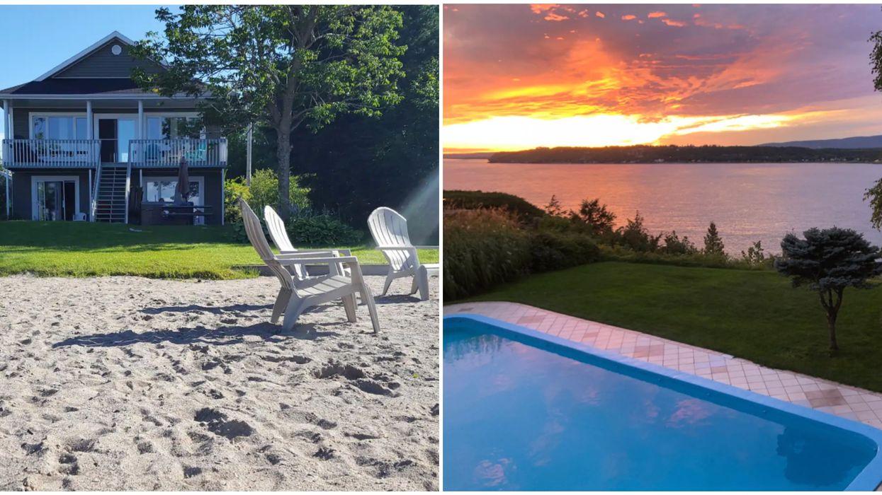 9 Airbnb qui te donneront l'impression d'être dans le Sud sans quitter le Québec