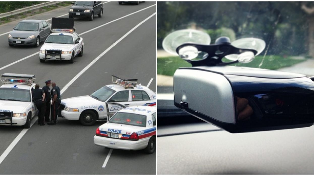 Radar Detectors In Ontario Are Being Seized From Speeding Drivers By Toronto Police