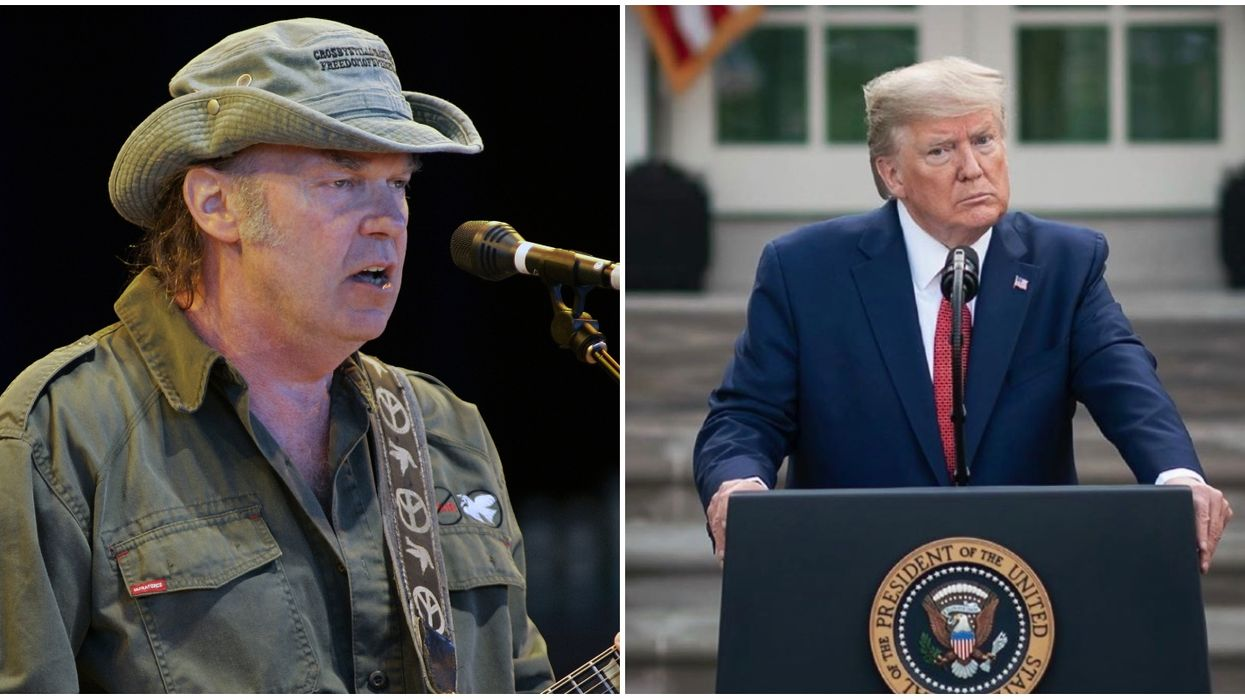 Neil Young Was Not Okay With Trump Using His Music At His Mount Rushmore Event