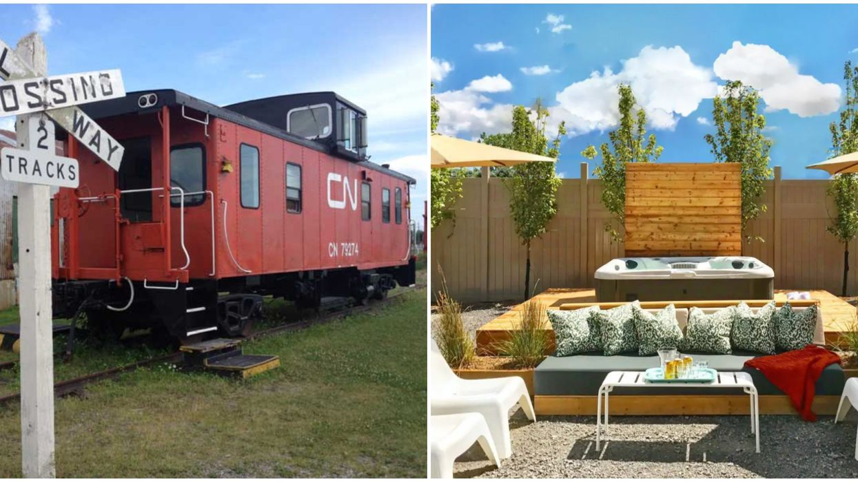 Ontario Train Car Airbnbs & Rentals To Get Your Summer Staycation Plans Back On Track