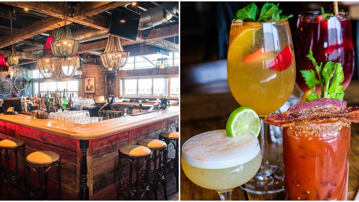 Tu peux recevoir un drink gratuit pour tester la nouvelle carte de cocktails du Jack Saloon Centre Laval