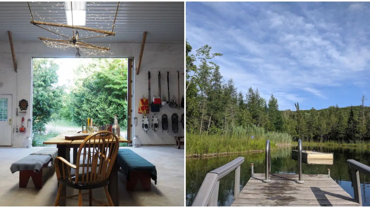 You Can Spend The Night At A Stargazing Loft In The Middle Of An Ontario Forest