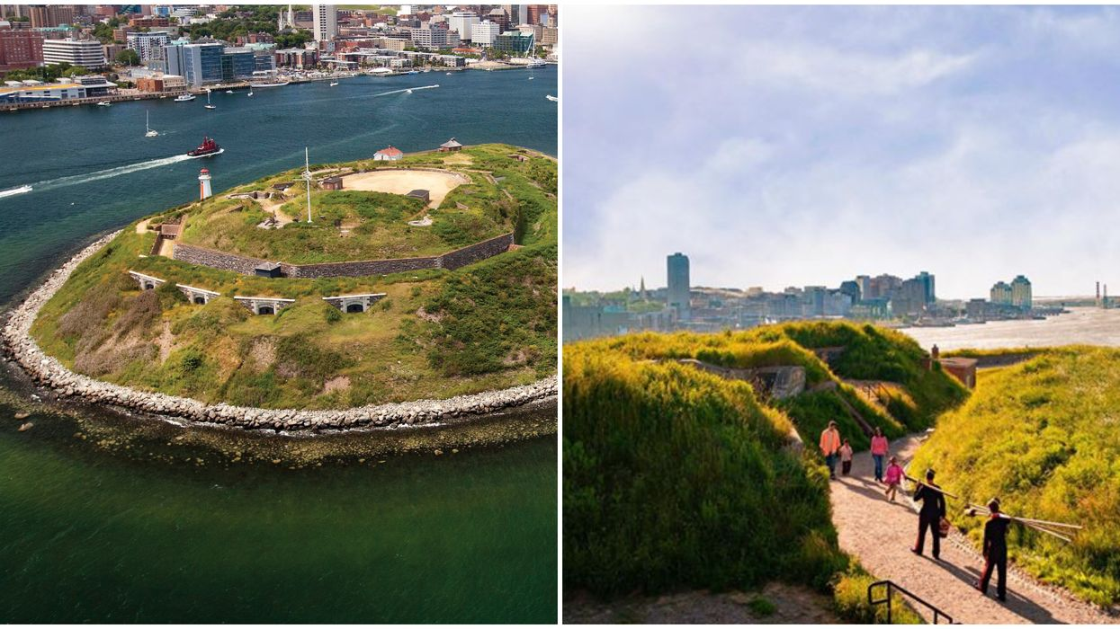 Georges Island Halifax Open To The Public Until September & You Can Explore Underground Tunnels