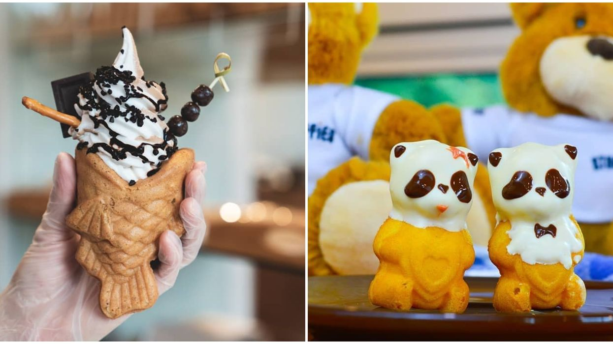 Toronto's Fish-Shaped Ice Cream Cones And Animal Shaped Desserts Are Too Cute