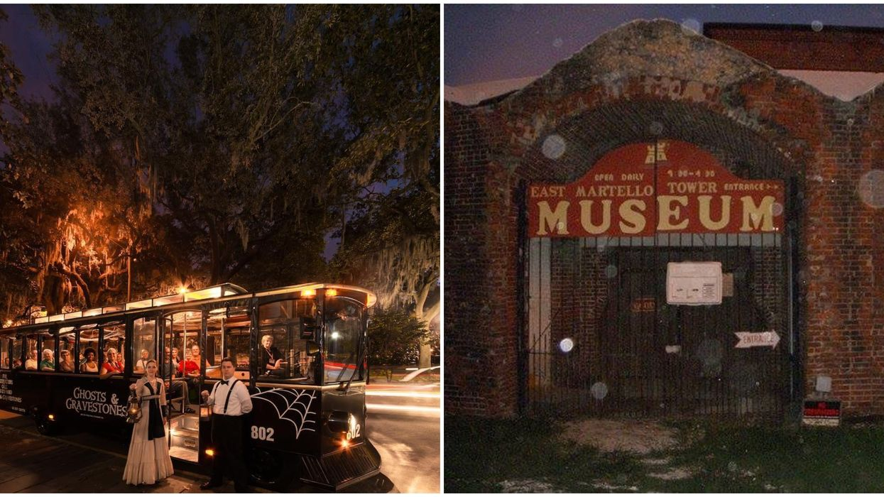 Most Haunted City In Georgia Savannah Has Chilling Ghost And Gravestones Trolley Tour