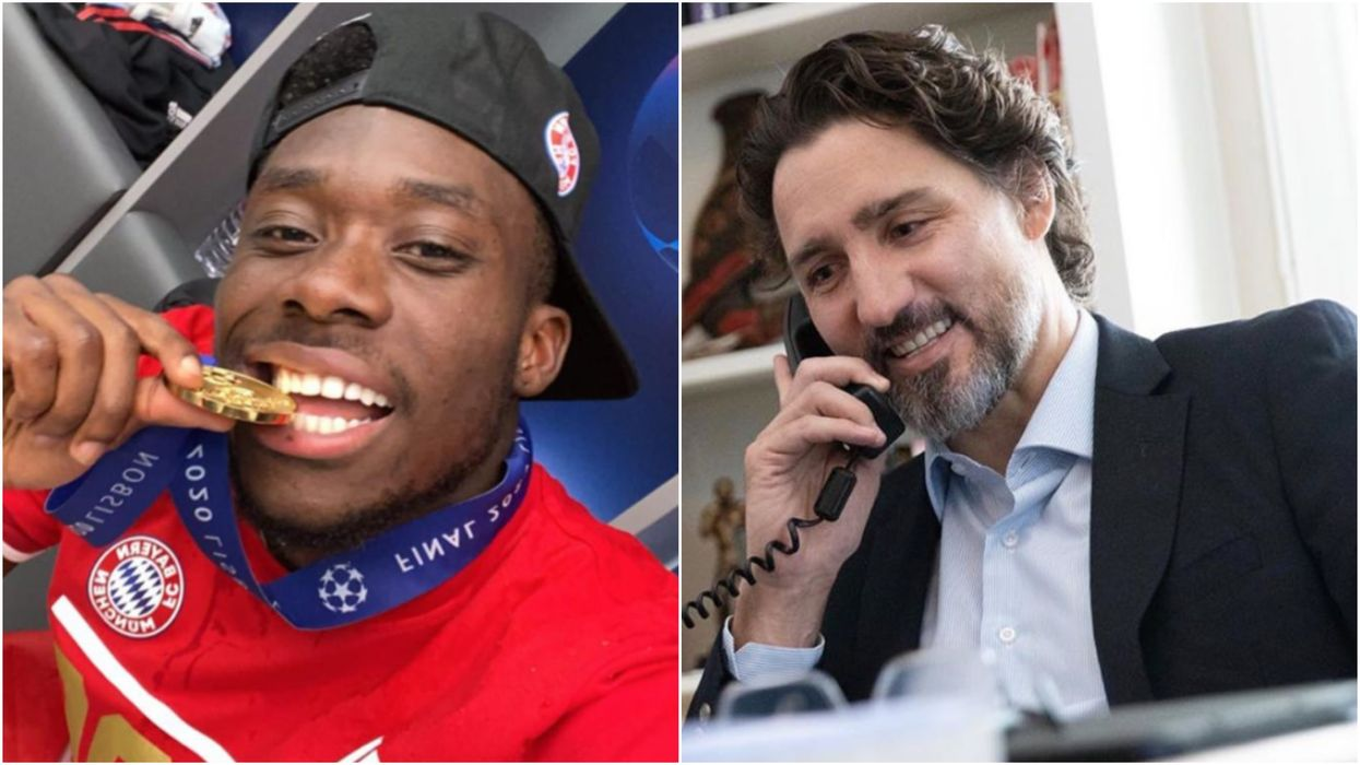 Canadian Soccer Star Alphonso Davies Is Getting All The Love From Trudeau & Drake