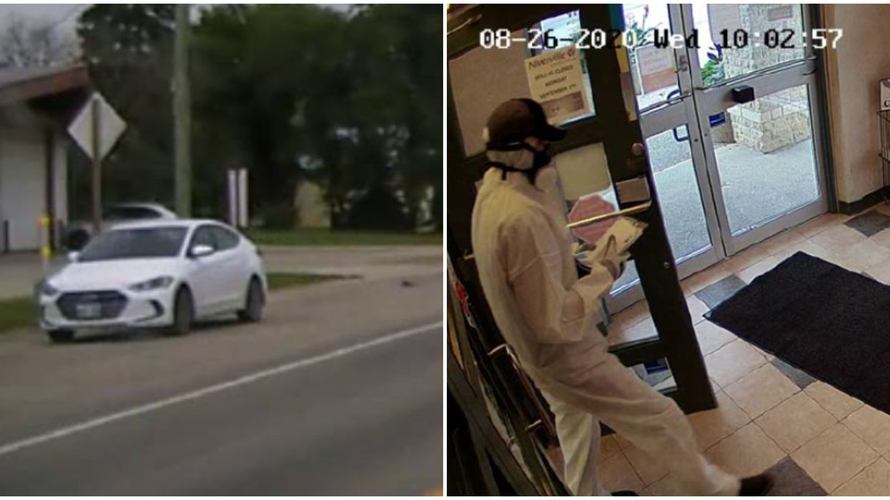 Manitoba Police Still On The Hunt For The 'Breaking Bad' Bank Robber
