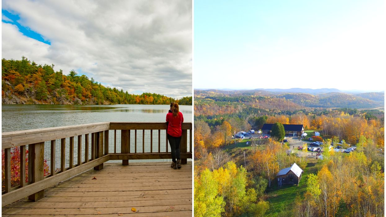 Cette région t'offre un road trip impressionnant pour découvrir les couleurs automnales du Québec