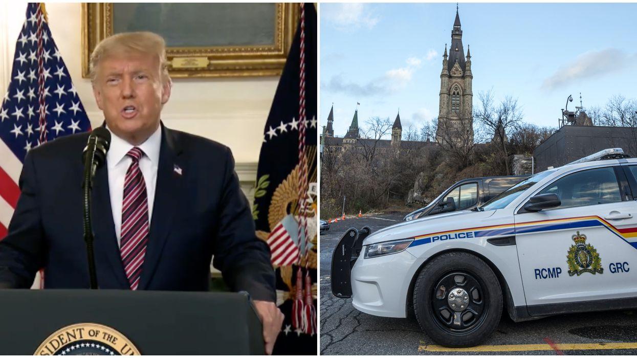 Une lettre empoisonnée destinée à Trump serait passée par Montréal