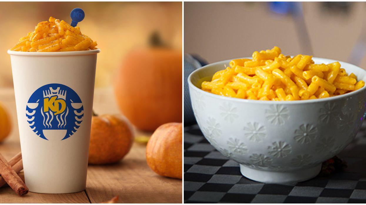 Kraft Dinner sort une saveur Pumpkin Spice au Canada