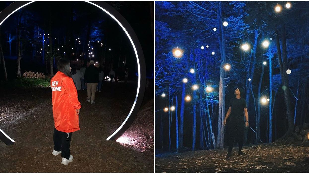 Ce parc à 1h30 de Montréal à un sentier illuminé féérique à découvrir en date cet automne