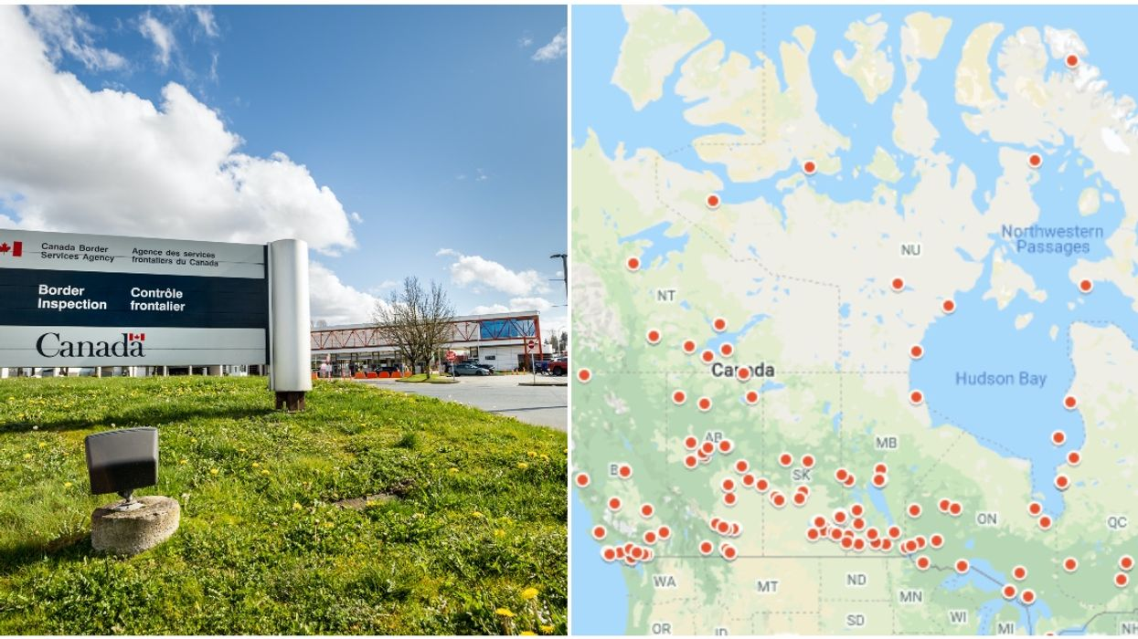 This Map Shows Just How Many Residential Schools Actually Existed In Canada