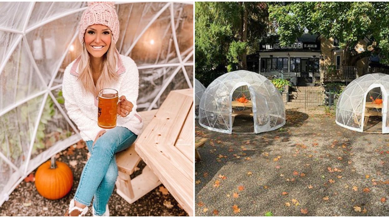 Ontario's Dome Dining Will Give You Fall & Winter Vibes