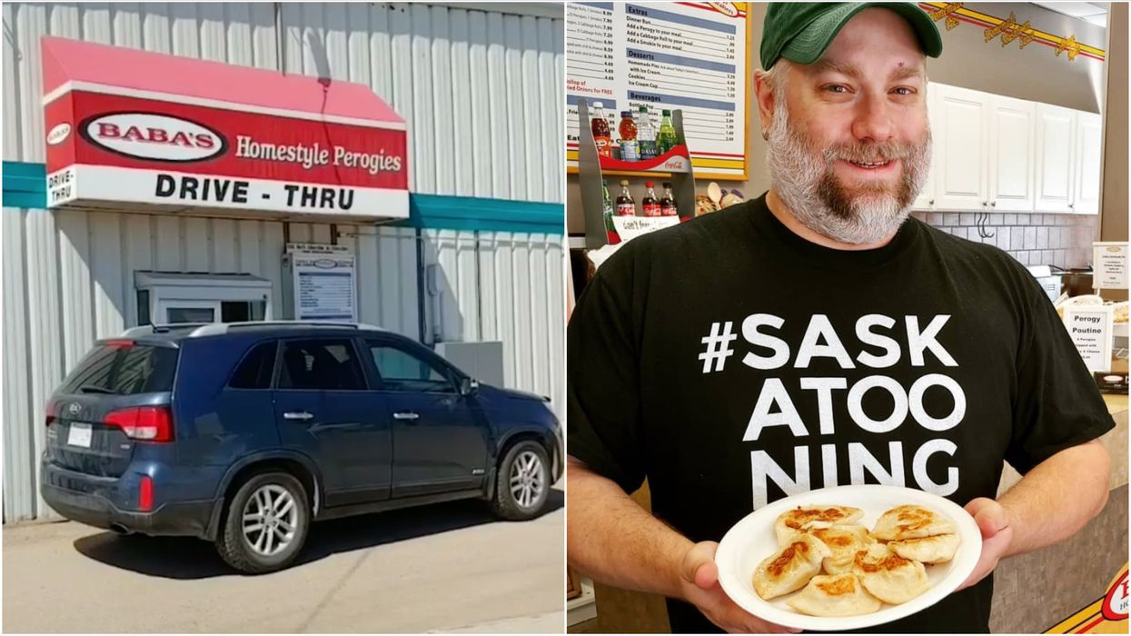 Perogy Drive-Thru In Canada May Be The Only One Of Its Kind In The World