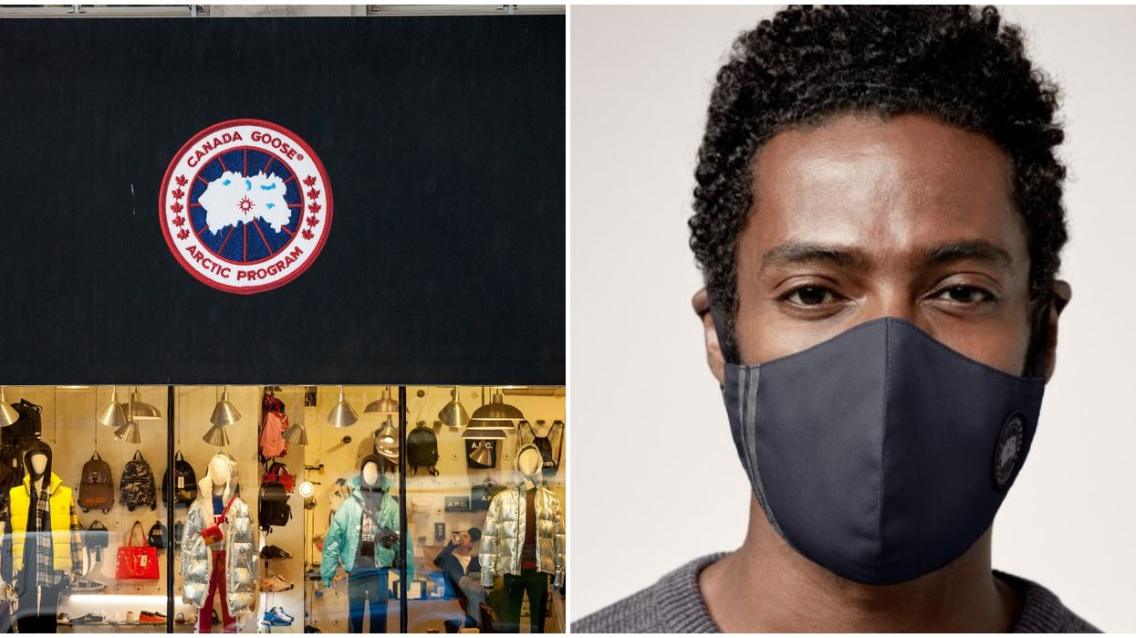 Canada Goose Has Face Masks For Sale & Some Cost Close To $100