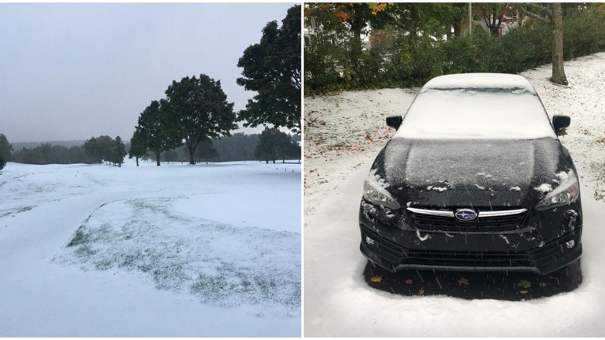 Snow Spotted In Nova Scotia & The Pictures Are Epic