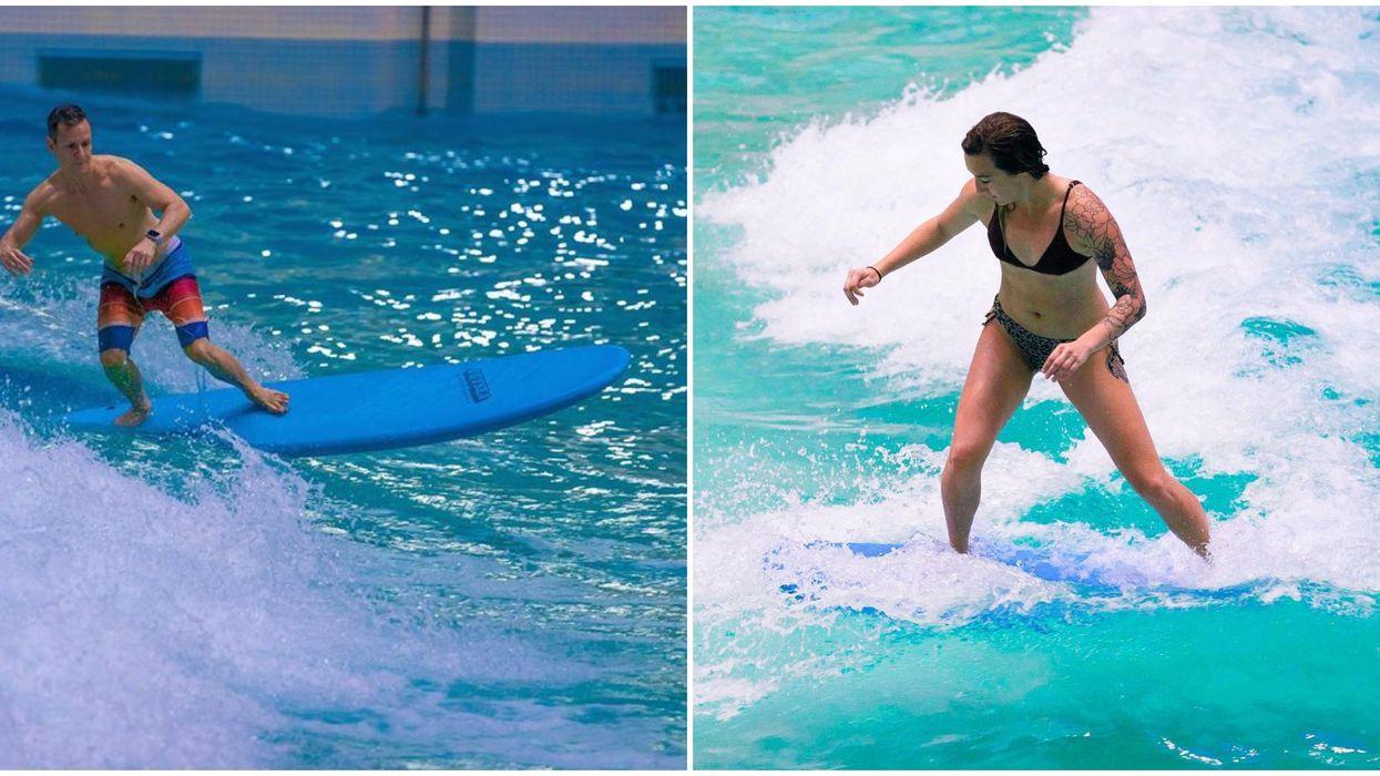 West Edmonton Mall's World Waterpark Has Indoor Surfing