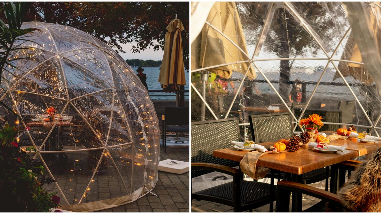 Toronto's Against The Grain Domes Are The Most Magical Places To Dine This Month