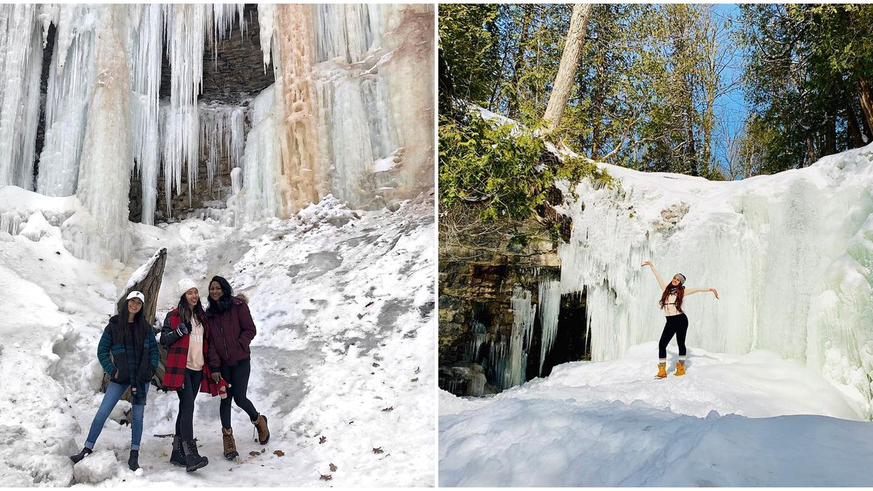 8 Ontario Frozen Waterfalls That Are Straight Out Of 'Frozen'