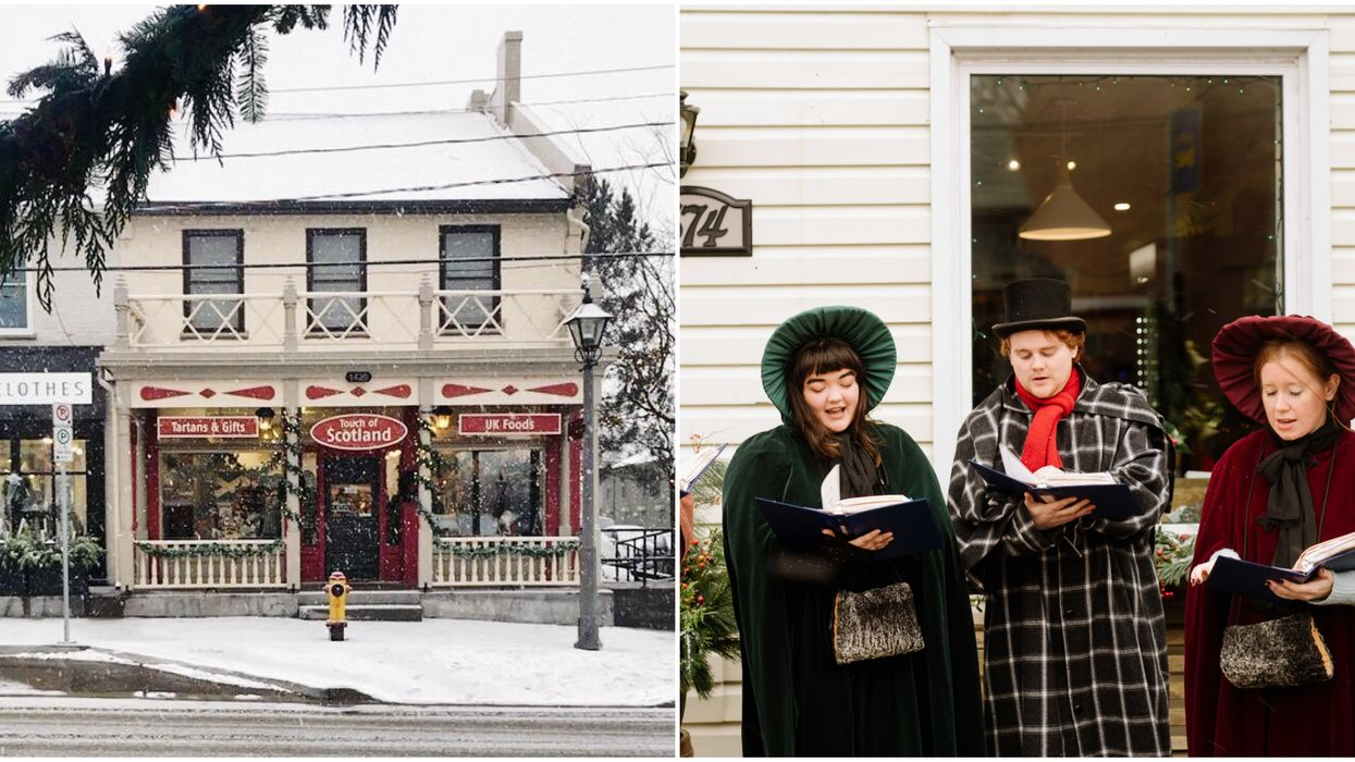 Ontario's 'St. Jacobs Sparkles' Is A Real Life Christmas Village Happening This Year