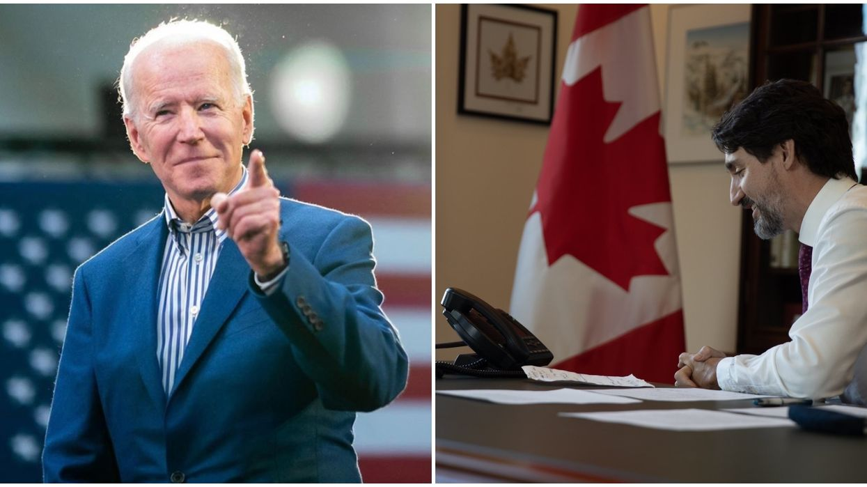 Justin Trudeau & Joe Biden Talked 2020's Most Important Issues In Their First Phone Call