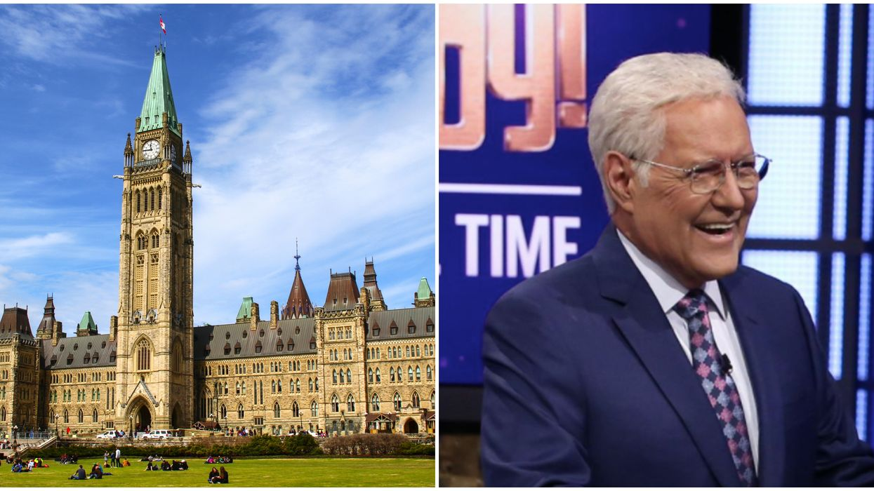 Alex Trebek Was Serenaded By The Canadian Parliament & It'll Have You Sobbing