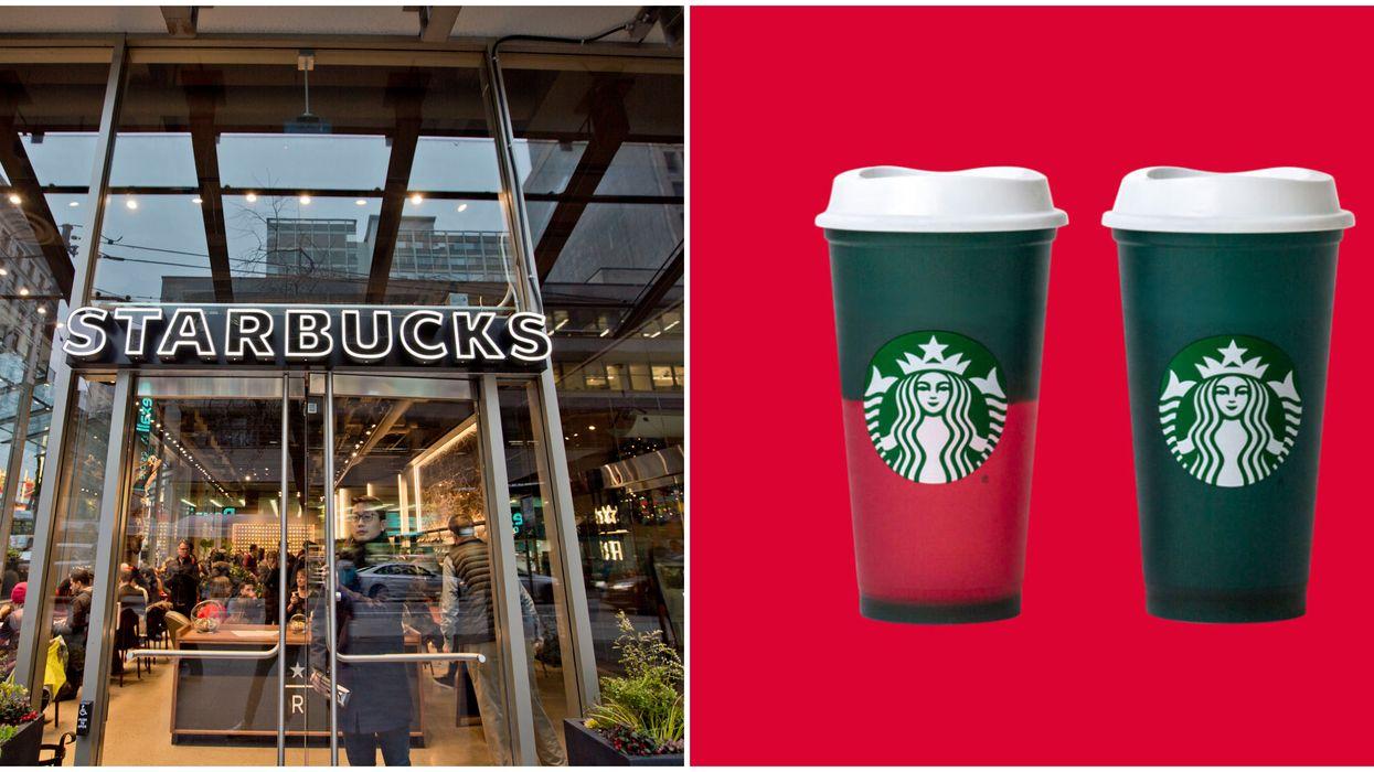 Starbucks Canada Reusable Cups That Change Colour Got A Festive Makeover