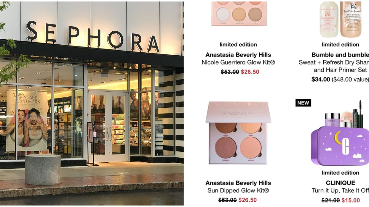 Sephora Is Dropping Huge Black Friday Deals & We're In For A Winter Glow Up