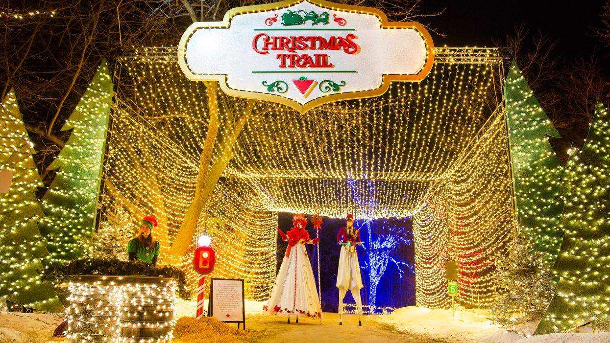 Toronto's Drive-Thru Christmas Trail Will Now Run Into 2021 With Added Surprises (PHOTOS)